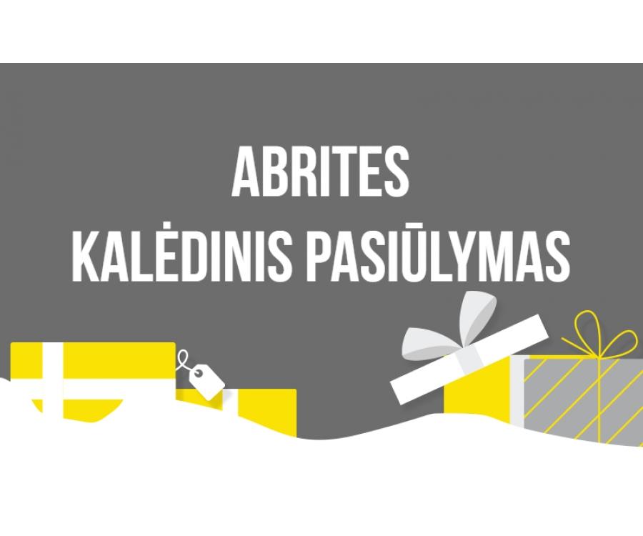ABRITES Kalėdinis pasiūlymas