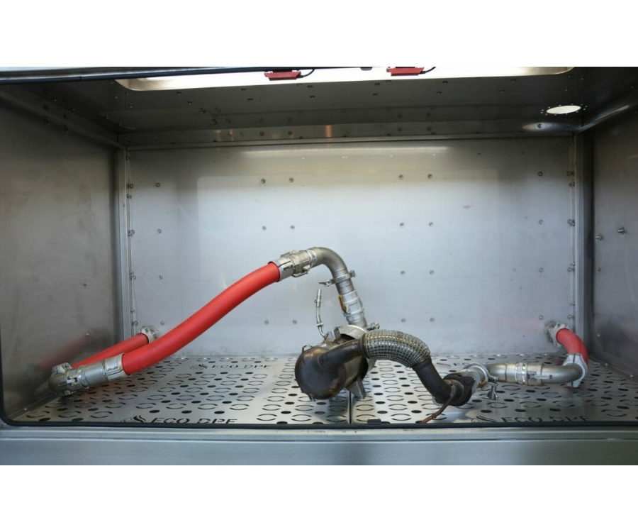 DPF filtrų plovimo įranga - procesas ir nauda