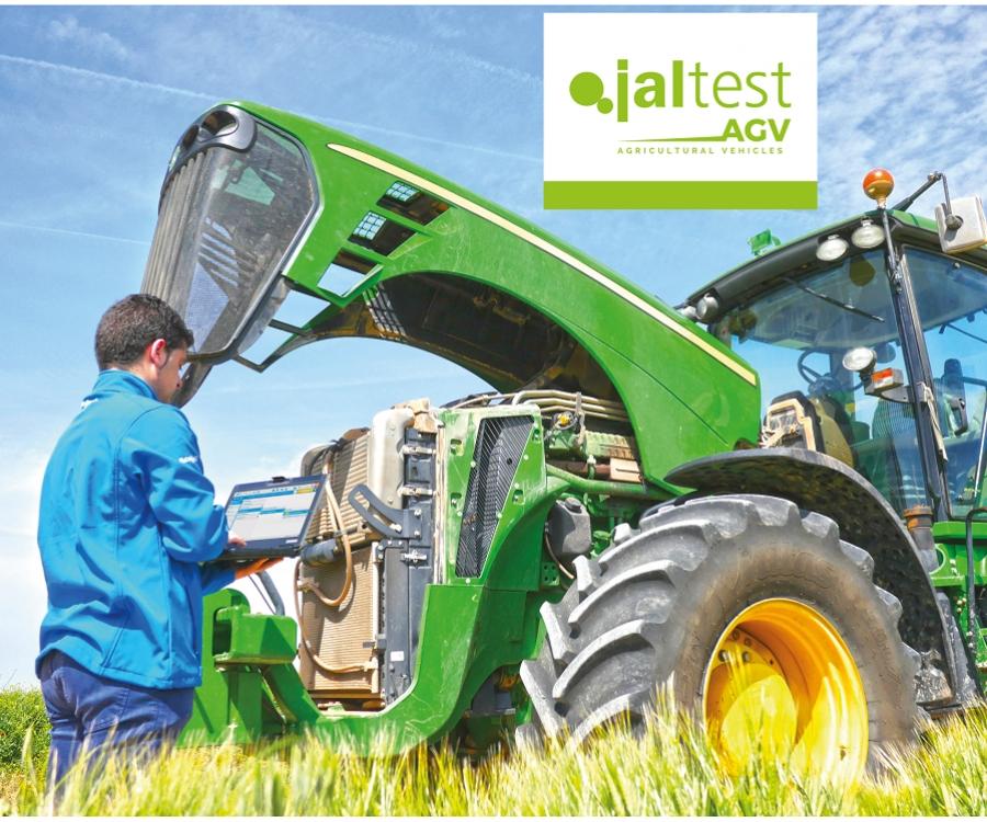 Jaltest AGV - diagnostikos įranga traktoriams ir kombainams