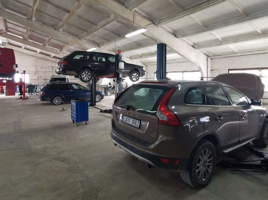 Galimybė teikti paraiškas pradėti automobilių remonto verslą