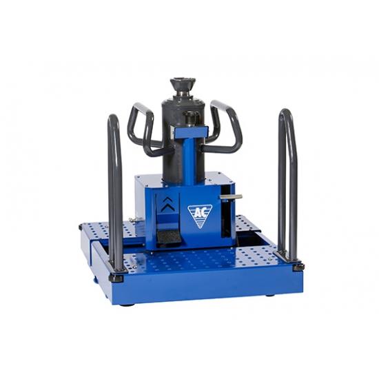 Pneumo-hidraulinis ant duobės grindų statomas keltuvas (15t)