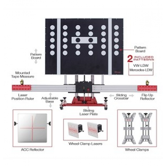 Autel MaxiSys ADAS Standard kalibracijos sistema