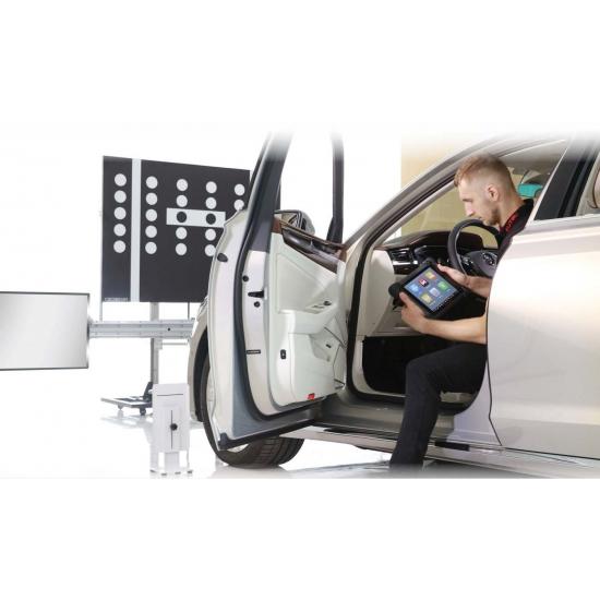 Pažangios vairuotojų pagalbos sistemos kalibravimo įranga Autel MaxiSYS ADAS