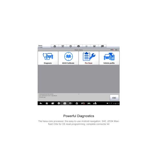 Mobili ADAS kalibravimo įranga Autel MaxiSys MA600