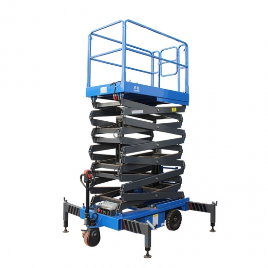 Hydraulic tower scissor lift 4.5 - 14 meters