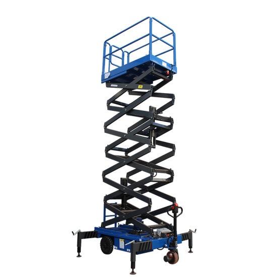 Hydraulic tower scissor lift 6 - 16 meters