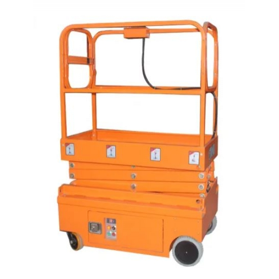 High and electric self-propelled scissor lift