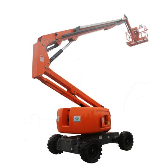 Self-propelled articulated lift with boom 16-22 meters