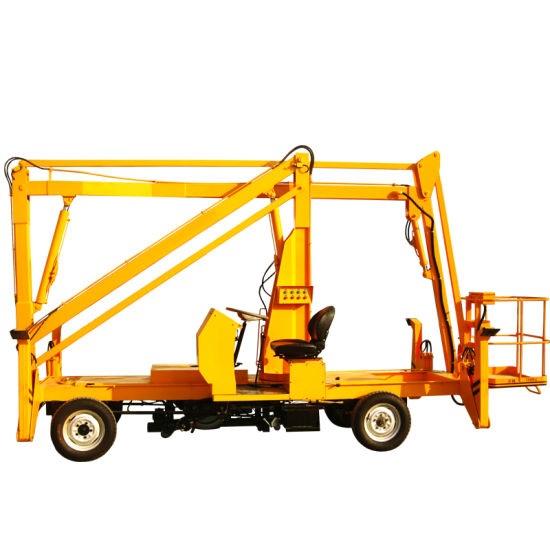 Self-propelled boom lift 15.5 meters