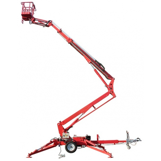Trailed boom lift 15.8 meters
