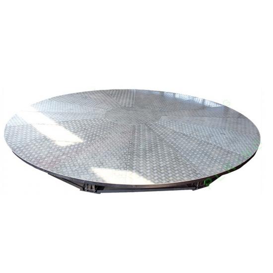 Поворотно-подъемная платформа для автомобилей 360
