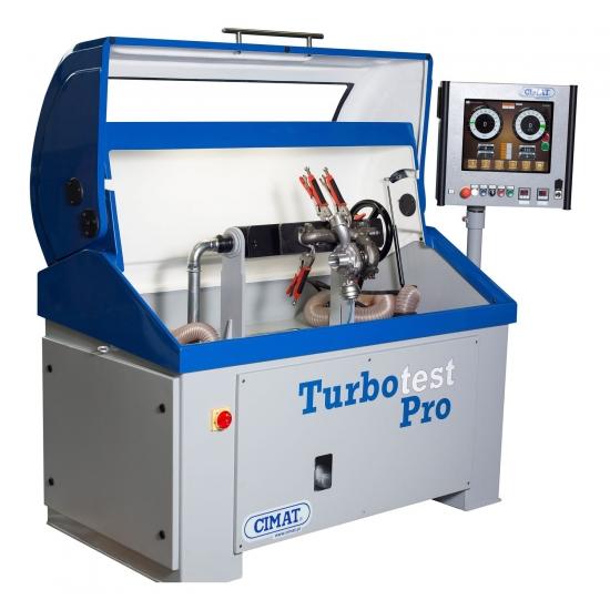 Turbinų šerdžių balansavimo įranga CIMAT Turbo Test Pro