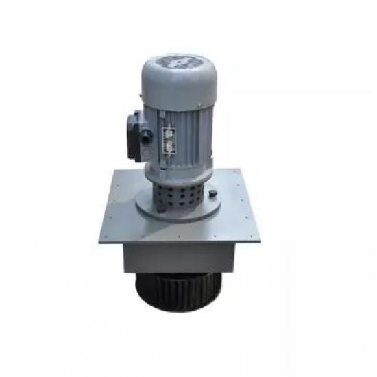 Circulation fan for powder coating furnace