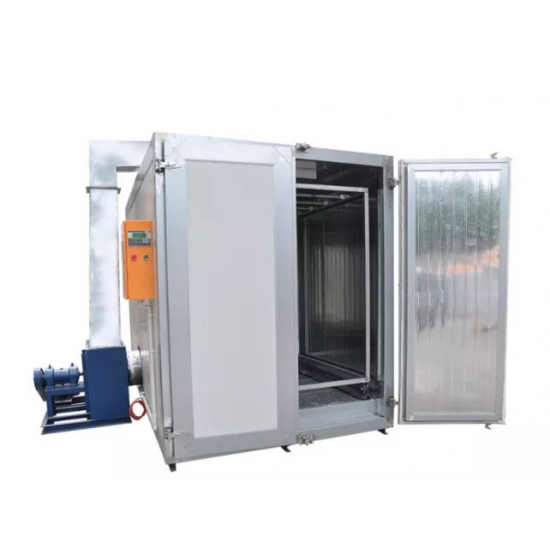 Large electric powder coating furnace COLO 1645