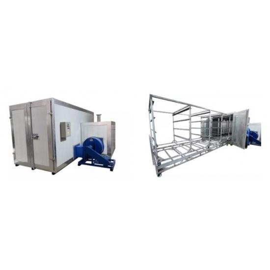Large powder coating furnace COLO 5219