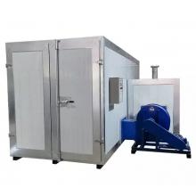 Gas - diesel powder coating furnaces