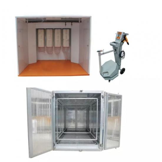 Elektrostatinės miltelių dengimo įrangos paketas COLO 3222 + 1732