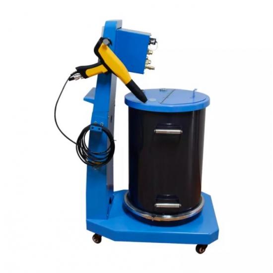 Functions of the digital powder spray gun system COMO K2
