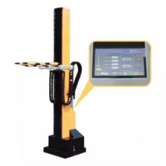 PLC automatinė miltelinio dažymo kolona COLO
