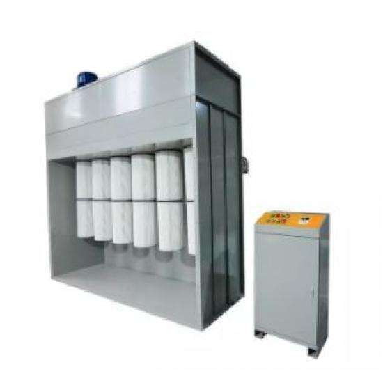 Miltelių  filtro kabinų rinkimo modulis COLO