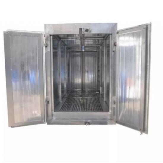 COLO 2447 crawler powder coating furnace