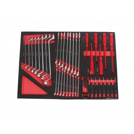 Profesionali įrankių spintelė su įrankiais 7 stalčiai 319vnt.