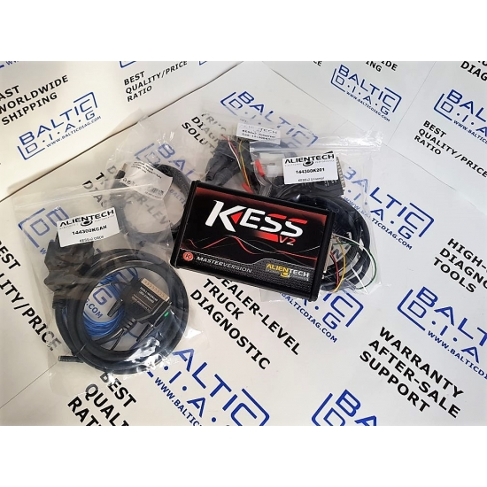 ECU programavimo įranga KESS v2 ALIENTECH