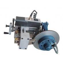 Uždėtų stabdžių diskų tekinimo įranga