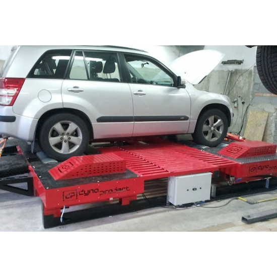 Variklio galios tikrinimo stendas DynoProject 4WD DP4L SYNCHRO