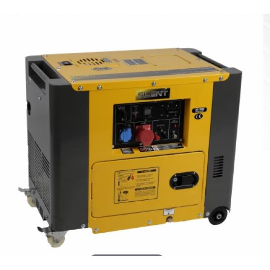 Dyzelinis elektros generatorius 230V/400V 5.5 kW