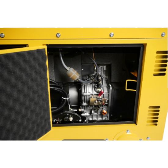 Dyzelinis elektros generatorius 230V-400V 10kVA