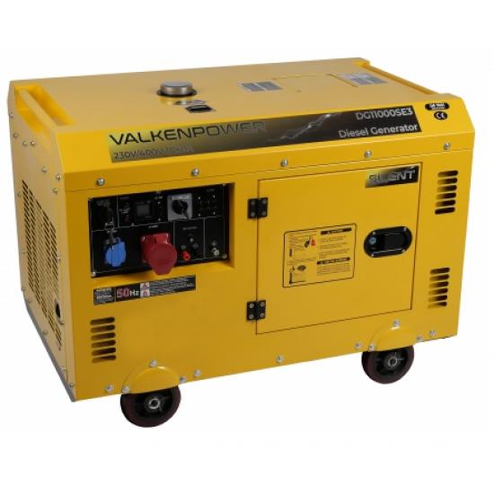 Dyzelinis elektros generatorius 230V-400V 7,5 kW 3000 aps/min