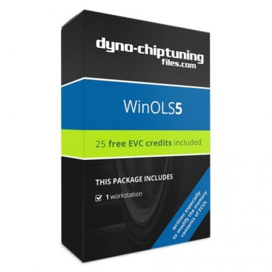 Chip tuning failų programa WinOLS5