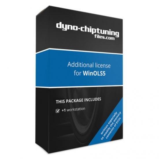 Chip tuning failų programos WinOLS5 papildoma 1 licencija