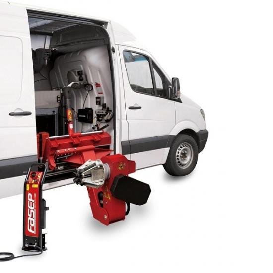 Mobilios sunkvežimių padangų montavimo staklės FASEP S209.006