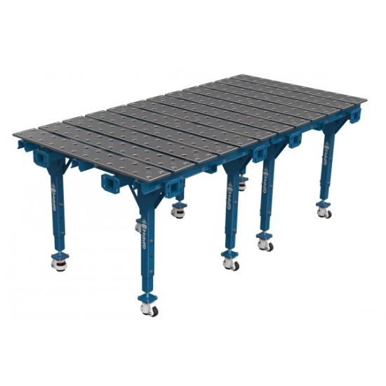 Modulinis dvigubas suvirinimo stalas GPPH 2000x1000 mm