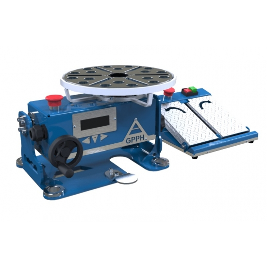 Rotary positioning tool for welding table GPPH