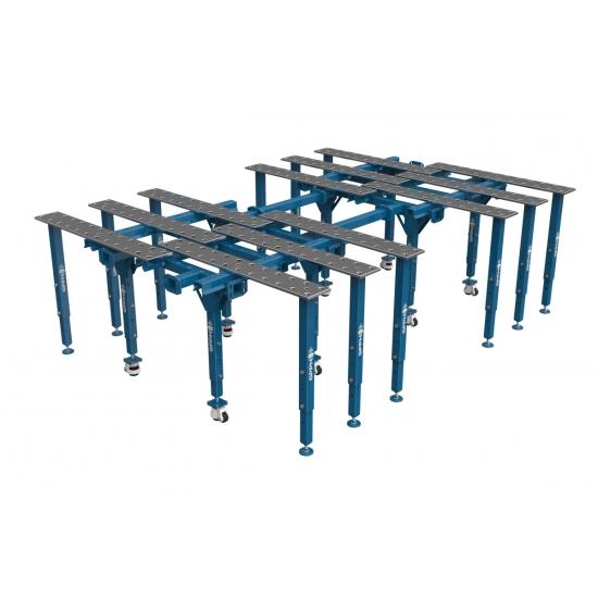 Išskleidžiamas suvirinimo stalas 1770X2630  mm