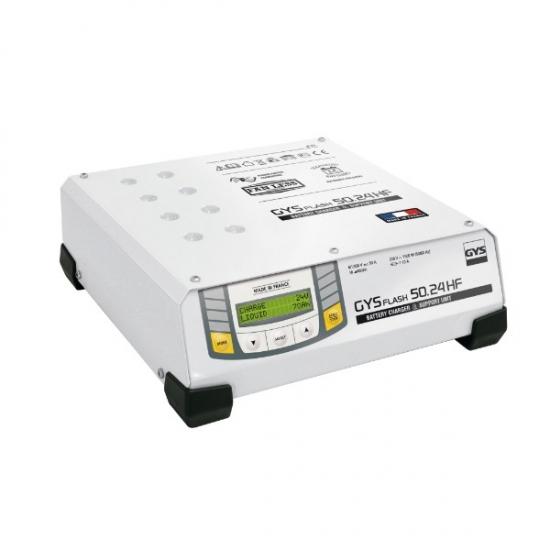 Akumuliatorių krovimo įranga GYS Flash 50-24 HF