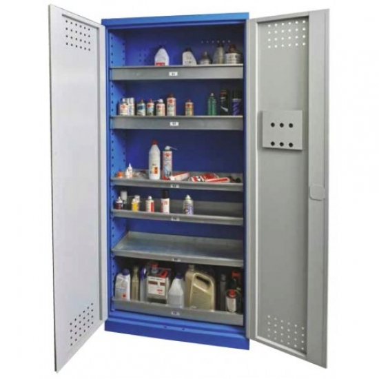 Work cabinet for chemical liquids 380