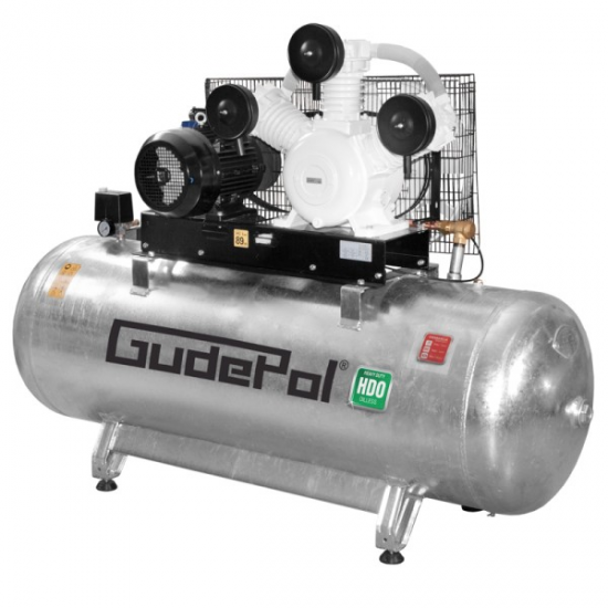 GudePol betepalinis oro kompresorius 500l 1150l/min 10bar