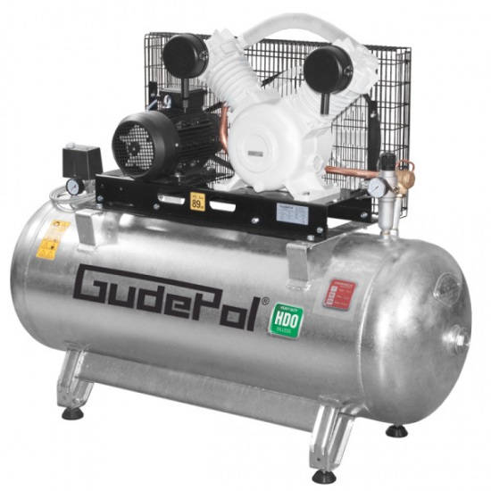 Безмасляный воздушный компрессор Gudepol 270л 680л / мин 10бар