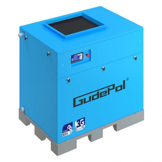 Sraigtinis kompresorius Gudepol 5400 l/min 8bar 30kW