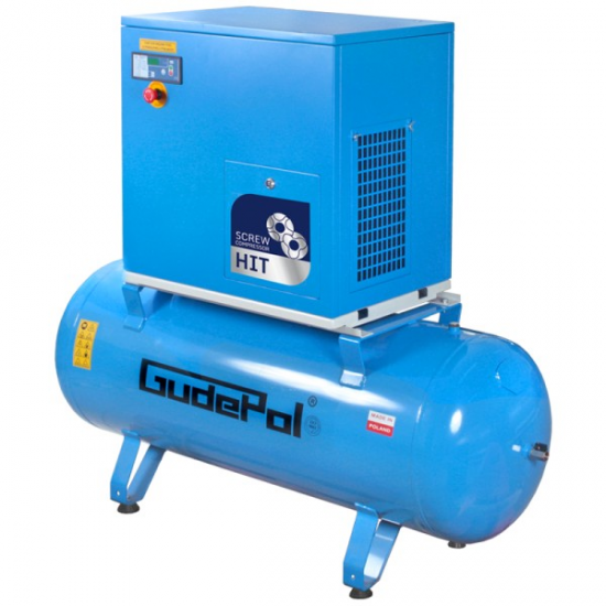GudePol sraigtinis kompresorius 270l 470 l/min 10bar