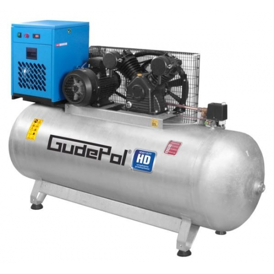 GudePol oro kompresorius su sausintuvu 500L 900L/min 10bar