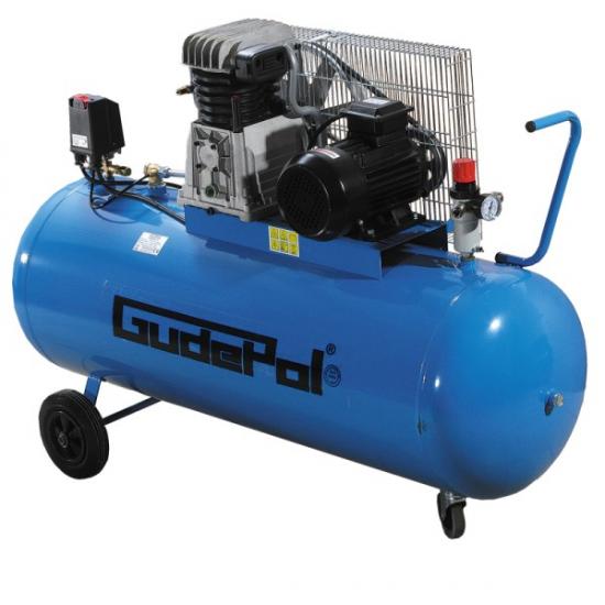 GudePol oro kompresorius 200L 560L/min 10bar