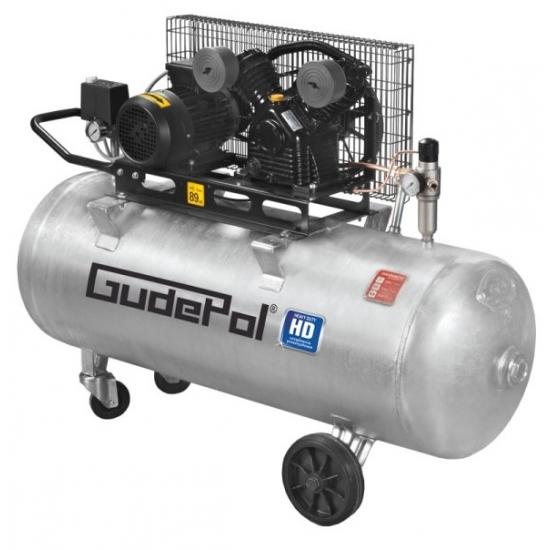 GudePol stūmoklinis oro kompresorius 200L 510 L/min 10bar