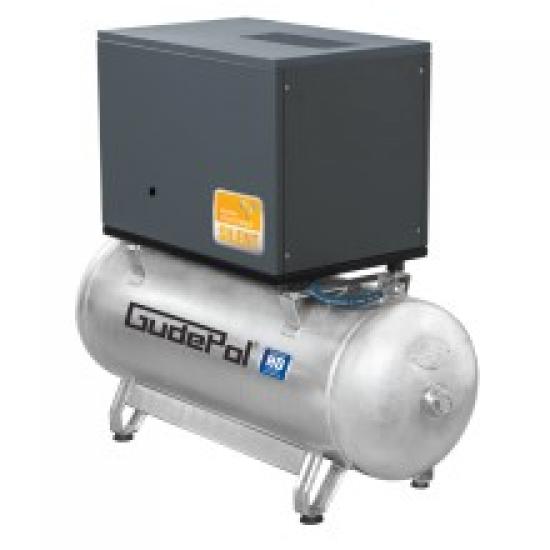 GudePol betepalinis vertikalus oro kompresorius 90L 300L/min 10bar