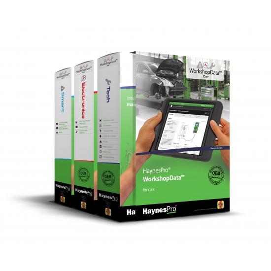 HaynesPro - techninių duomenų bazė automobiliams