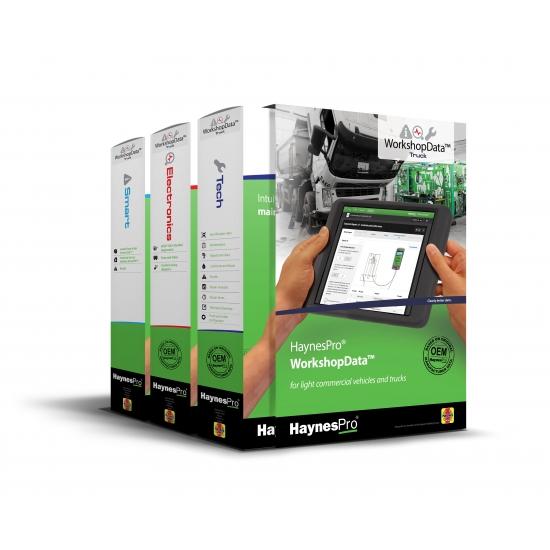 HaynesPro - techninių duomenų bazė sunkvežimiams
